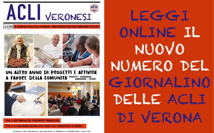 Giornalino ACLI Veronesi… leggi online l'ultimo numero!